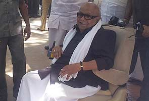 DMK chief M Karunanidhi asks for death penalty to be abolished