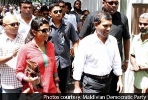 Maldives' ex-President Mohamed Nasheed remains in Indian Mission in Male for fourth day