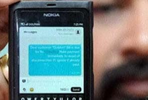 'Your mobile bill is Rs 13 crore, please ignore if already paid'