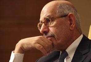 Egypt's opposition leader Mohamed ElBaradei calls for election boycott