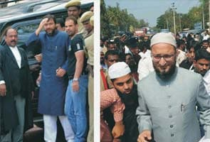 Owaisi brothers appear before court in 2005 case