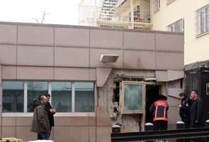 Two killed, several injured in blast near US embassy in Turkey