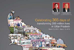 Akhilesh Yadav's 2-crore ads celebrate lion safari, freebie laptops
