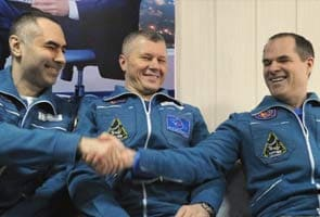 Space crew returns to Earth from International Space Station