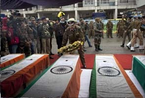 After protests over his absence, Omar Abdullah pays tribute to killed CRPF jawans at airport