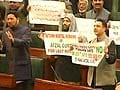 Uproar in Jammu and Kashmir assembly over Afzal Guru's hanging