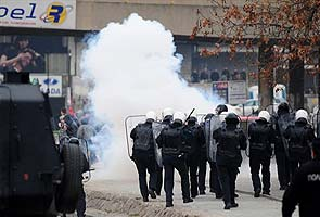 22 people injured in Macedonia riots
