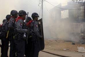 State of emergency declared in Myanmar town