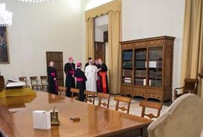 Pope's house ready, but he's staying in hotel
