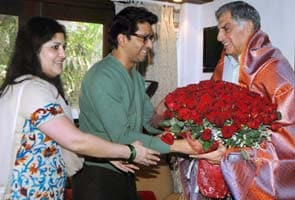 Ratan Tata visits Raj Thackeray in Mumbai, discusses books ...