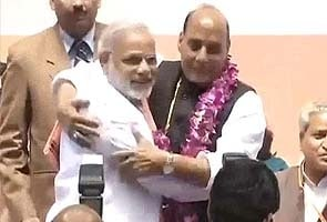 Narendra Modi's Gujarat is 'model state in the world': BJP chief Rajnath Singh