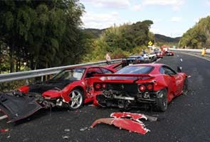 Charges sought over $4 million Ferrari, Lamborghini pile-up
