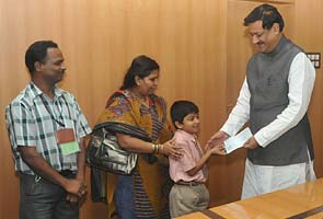 Schoolboy donates savings for drought relief