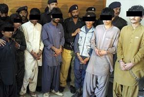 Child 'bombers', aged between 10 and 17, detained by police in Pakistan