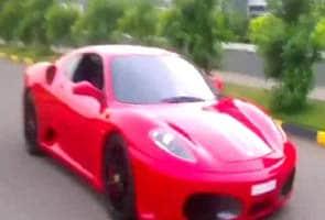 Kerala: 9-year-old drives Ferrari, creating furore