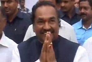 In election-bound Karnataka, deputy chief minister KS Eshwarappa in trouble over allegedly provocative speech