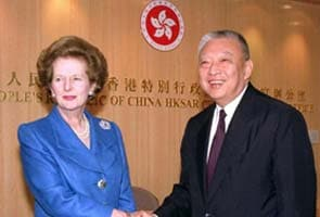 China lauds 'Margaret Thatcher's biggest compromise' over Hong Kong