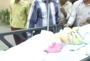 Delhi five-year-old stable, is speaking to parents and nurses