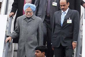 Prime Minister Manmohan Singh arrives in Germany for 3-day visit