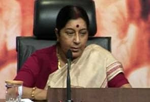 Only what Sonia Gandhi wants happens in House: Sushma Swaraj