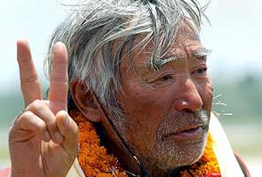 Octogenarian Japanese climber aims for Mount Everest record