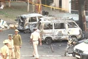 Bangalore blast: cops among 16 injured, 'terrorist activity' says Karnataka Home Minister R Ashok
