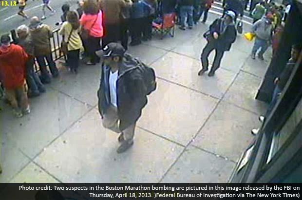 FBI asks public to help find men wanted in bombings