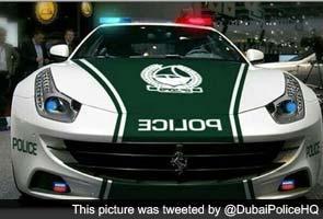 After Lamborghini, Dubai cops to have Ferrari car