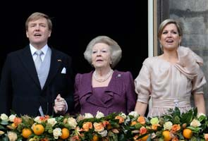 King Willem-Alexander replaces mother Beatrix as the youngest Dutch monarch