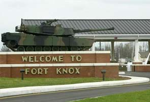 One killed in shooting at US army post Fort Knox