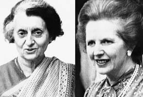 When Indira Gandhi cleared the plates at meal with Margaret Thatcher