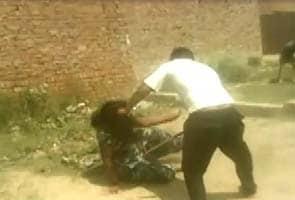 On camera, woman beaten in Ludhiana, nobody helped