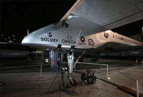 World's first 'solar plane' to fly across US