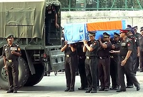 Bodies of Indian soldiers killed in Sudan ambush arrive in Delhi