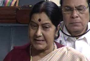 Will not stall Finance Bills but no support to government hereafter: Sushma Swaraj