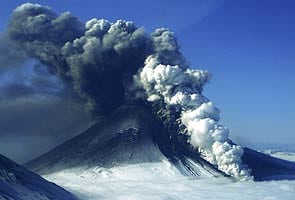 Alaska volcano shoots huge ash plumes into the air