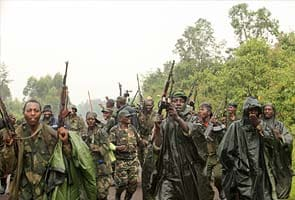Congolese army, rebels clash for a second day, 19 dead