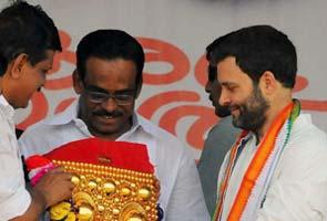 Rahul Gandhi slams opposition for 'stalling' Food Bill