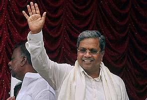 K Siddaramaiah sworn in as Karnataka Chief Minister
