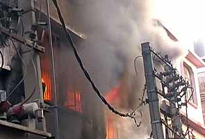 Minor fire in plastic factory in Delhi