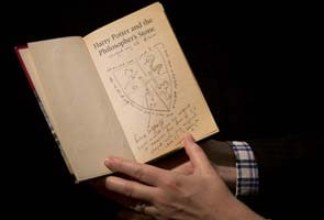 'Harry Potter' 1st edition with original notes on auction