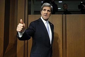 John Kerry aims to calm tensions in his first Russia visit