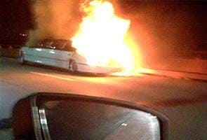 California driver rues 'nightmare' blaze in overloaded limousine