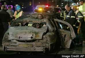 Bride, four others killed in California limousine fire