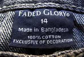 ea1d1a3c2 Bangladesh factory banned by Wal-Mart still makes Wrangler shirts