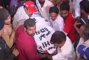 Senior leader Zara Shahid Hussain of Imran Khan's party killed