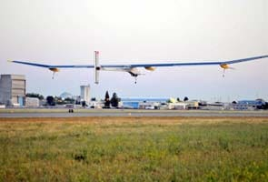 First-ever solar plane begins cross-country trip across US