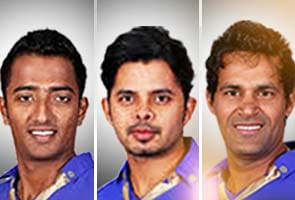 Spot-fixing: Rajasthan Royals suspends contracts of Sreesanth, Ajit Chandila and Ankeet Chavan pending inquiry
