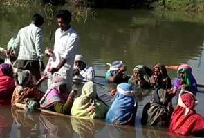 'Jal Satyagraha' returns to Madhya Pradesh as farmers begin five-day protest