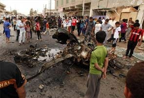 Series of car bombs kills 24 people in Iraq, say officials